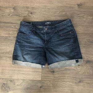 Loft Denim Cuffed shorts